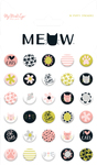 Puffy Stickers - Meow - My Mind's Eye