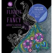 Sandi Pirrelli Flights Of Fancy Coloring Book - Prima