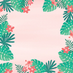 Leaves Paper - Palm Beach - My Mind's Eye