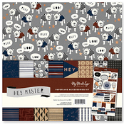 Hey Mister Paper and Accessories Kit - My Mind's Eye