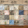 "Etcetera Idea-Ology Paper Stash Double-Sided Paper Pad 8""X8""  - Tim Holtz"