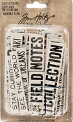 Word & Phrases Idea-Ology Chipboard Quote Chips - Tim Holtz