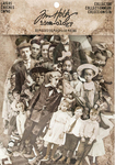 Vintage Black & White Idea-Ology Paper Dolls Die-Cuts - Tim Holtz
