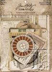 Idea-Ology Layers Cards 33/Pkg, Tim Holtz