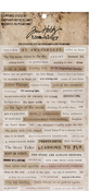 Idea-Ology Clippings Stickers, Tim Holtz