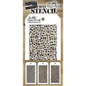 Tim Holtz Mini Layered Stencil Set #28