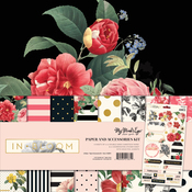 In Bloom Paper and Accessories Kit - My Mind's Eye