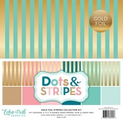 Gold Foil Stripe Collection Kit - Echo Park