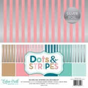 Silver Foil Stripe Collection Kit - Echo Park