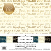 Thank You Foil Collection Kit - Carta Bella