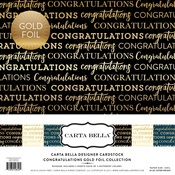 Congratulations Foil Collection Kit - Carta Bella