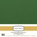 Evergreen Shimmer Cardstock - Carta Bella