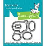 Bun In The Oven Lawn Cuts Custom Craft Die - Lawn Fawn