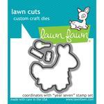 Year Seven Lawn Cuts Custom Craft Die - Lawn Fawn