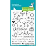"""Elphie Selfie Lawn Fawn Clear Stamps 4""""X6"""""""