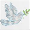 "Dove Of Peace - Diamond Dotz Diamond Embroidery Facet Art Kit 6""X6"""
