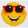 "Smiling Face - Diamond Dotz Diamond Embroidery Facet Art Kit 6""X6"""