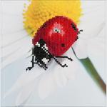 "Daisy Lady - Diamond Dotz Diamond Embroidery Facet Art Kit 9.75""X9.75"""