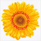 "Happy Day Sunflower - Diamond Dotz Diamond Embroidery Facet Art Kit 9.75""X9.75"""