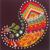 "Paisley Groove - Diamond Dotz Diamond Embroidery Facet Art Kit 9.75""X9.75"""