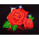 "Red Rose Sparkle - Diamond Dotz Diamond Embroidery Facet Art Kit 17""X13.75"""
