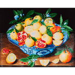 "Still Life With Lemons - Diamond Dotz Diamond Embroidery Facet Art Kit 19.5""X23.5"""