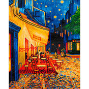 "Cafe At Night (van Gogh) - Diamond Dotz Diamond Embroidery Facet Art Kit 23.5""X33.5"""