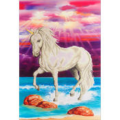 "Magical Unicorn - Diamond Dotz Diamond Embroidery Facet Art Kit 26.5""X22.5"""