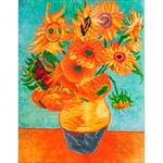 "Sunflowers (van Gogh) - Diamond Dotz Diamond Embroidery Facet Art Kit 63""X29.5"""