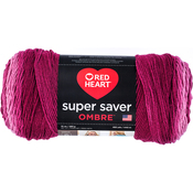 Anemone - Red Heart Super Saver Ombre Yarn