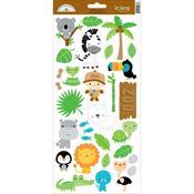 Icons 2 Sticker Sheet - At The Zoo - Doodlebug