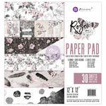 Rose Quartz - Prima Marketing Double-Sided Paper Pad