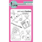 """Seeds Of Kindness - Pink & Main Clear Stamps 4""""X6"""""""