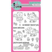 """Scentsational - Pink & Main Clear Stamps 4""""X6"""""""