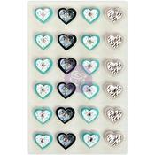 Aqua Love - Prima Traveler's Journal Hearts