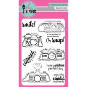 """Candid Moments - Pink & Main Clear Stamps 4""""X6"""""""