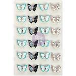 Aqua Sweeties - Prima Traveler's Journal Butterflies
