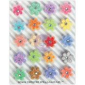Garden Pansies - Prima Traveler's Journal Flowers