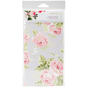 "Love Stripe & Floral W/32 Gray Sheets - Color Crush Traveler's Planner Notebooks 8.25""X4.25"" 2/Pkg"