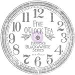 "Clock, 12"" - Iron Orchid Designs Decor Transfer Rub-Ons"