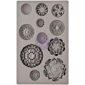 Medallions - Iron Orchid Designs Vintage Art Decor Mould