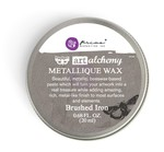 Brushed Iron - Finnabair Art Alchemy Metallique Wax