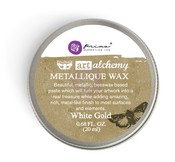 White Gold - Finnabair Art Alchemy Metallique Wax