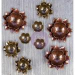 Lotus - Finnabair Mechanicals Metal Embellishments