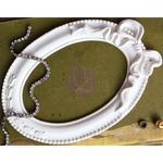 Pappillon Blanc Oval - Prima Marketing Frank Garcia Memory Hardware Resin Frames