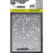 Horloges - Carabelle Studio Embossing Folder