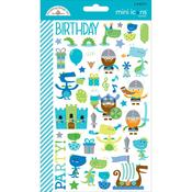 Dragon Tails Mini Icon Sticker Sheets - Doodlebug