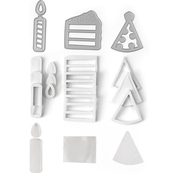 Birthday - Queen & Company Shaker Shape Kit
