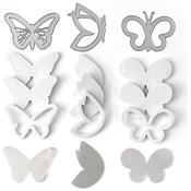 Butterflies - Queen & Company Shaker Shape Kit
