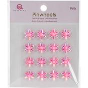 Pink Self-Adhesive Pinwheels